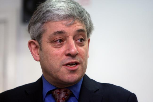 Letters from Westminster - John Bercow enjoying being 'back in the swing of things'