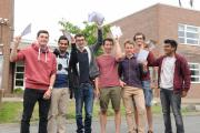 A-Level results day: John Hampden Grammar School students over the moon with top grades