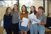 A-Level results day: Students celebrate successes at Chesham Grammar School