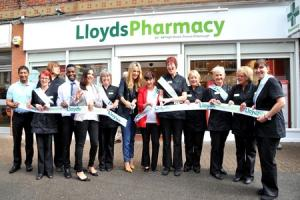 Satisfaction for residents as celeb Jagger opens new pharmacy