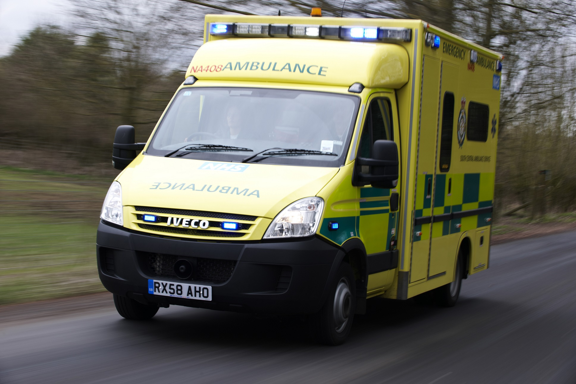 Two people injured in crash on busy road
