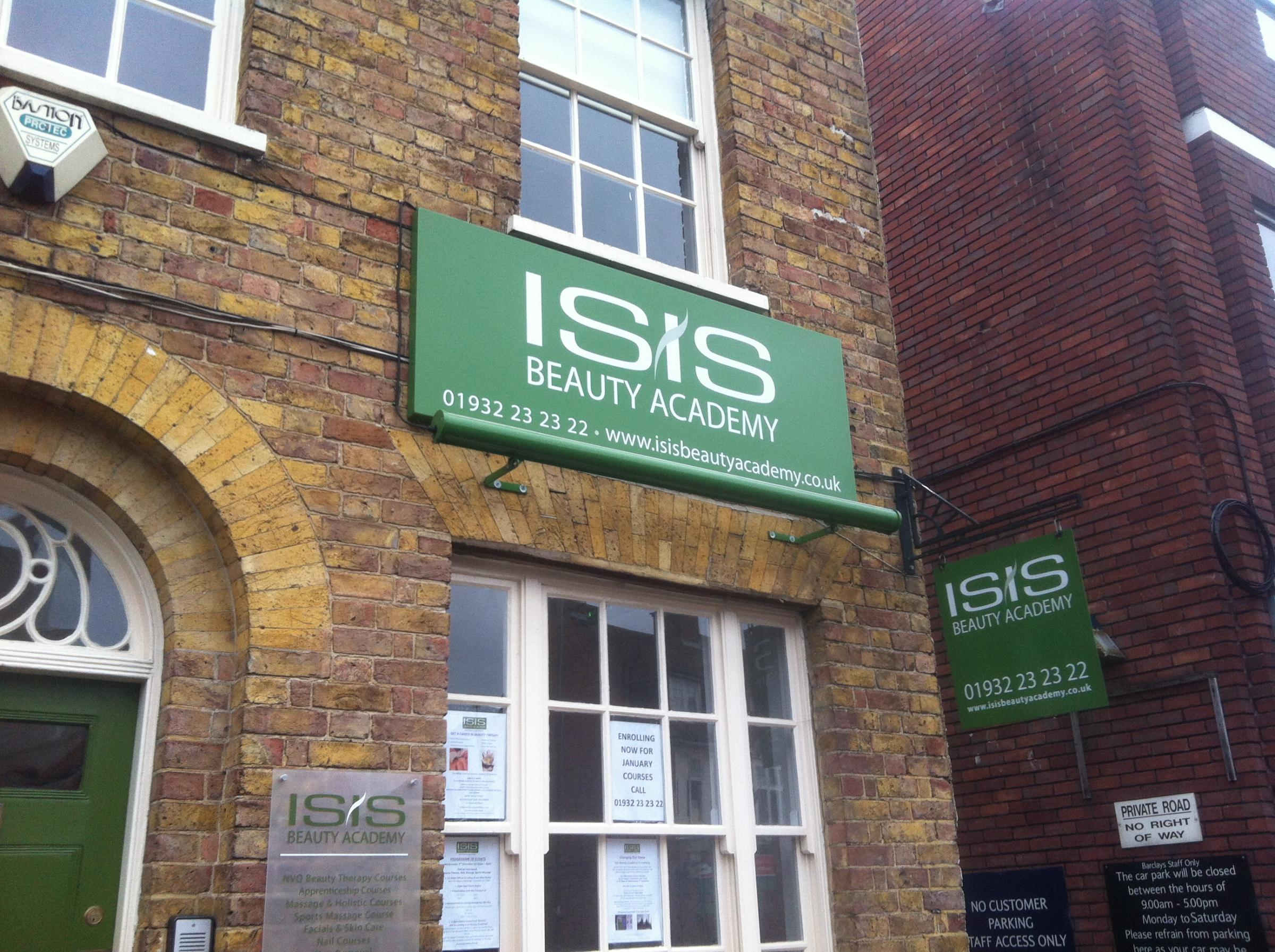 The ISIS Beauty Academy on Church Street in Walton has received a barrage of abuse in recent months