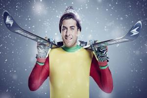 James 'Arg' Argent returns to The Jump after Linford Christie injury and jokingly asks viewers to pray for him