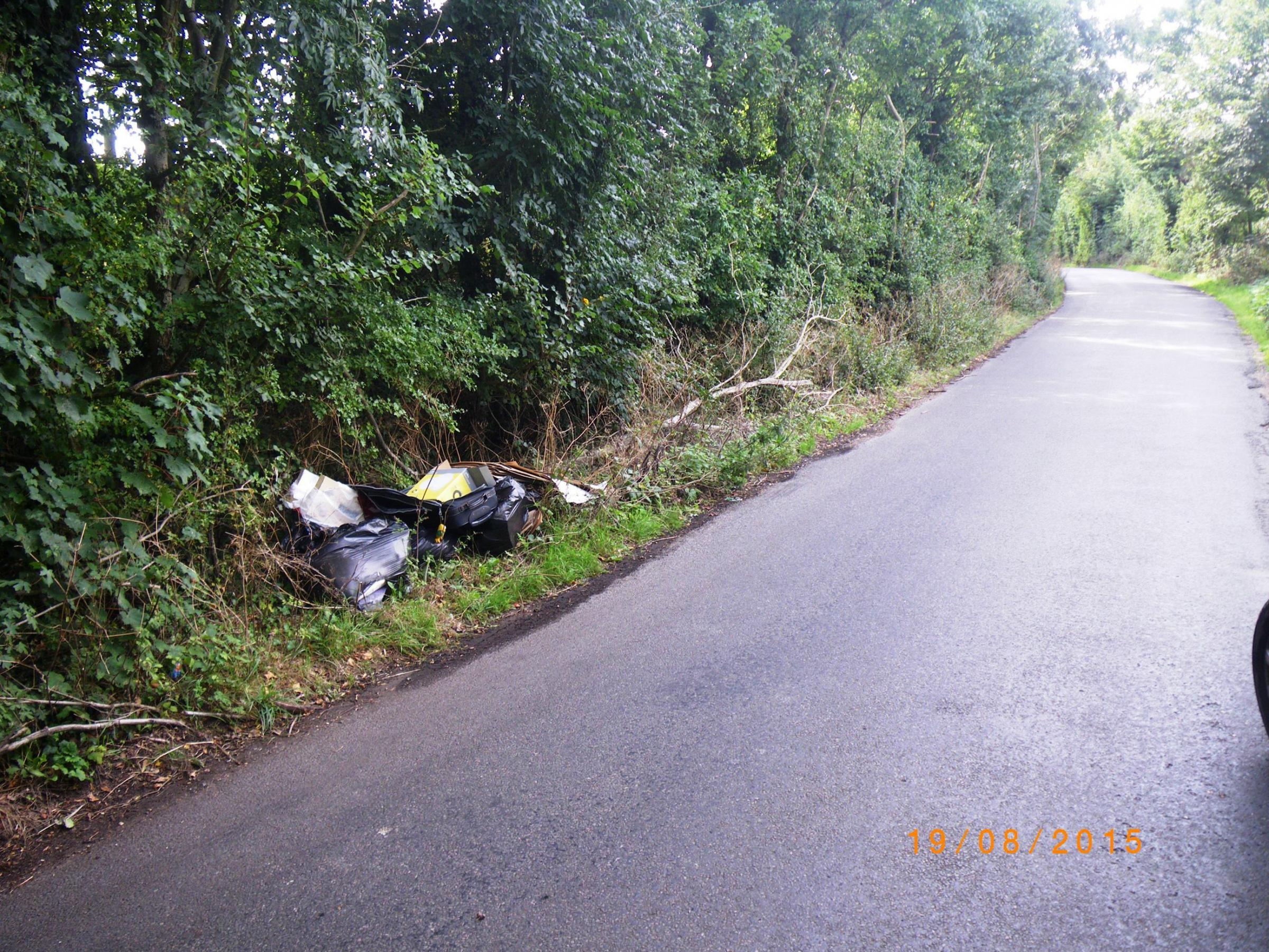 Artur Woszcyna, 25, of Clare Road, Maidenhead, pleaded guilty at High Wycombe Magistrates Court on January 20 to an offence of illegally dumping controlled waste in Burnham.