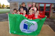 Marlow C of E school became an Eco School in 2013