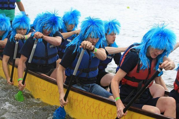 Each year crews battle it out to be crowned the ultimate dragon boat champion (55301279)