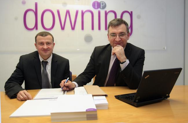 Downing Intellectual Property - Left to right: Edward Clarke and Michael Downing. Picture by ARM Images.