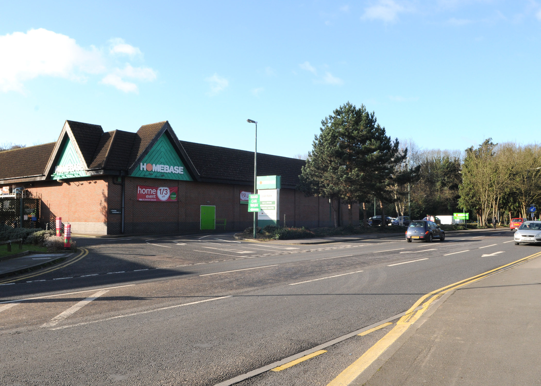 Homebase on London Road, High Wycombe