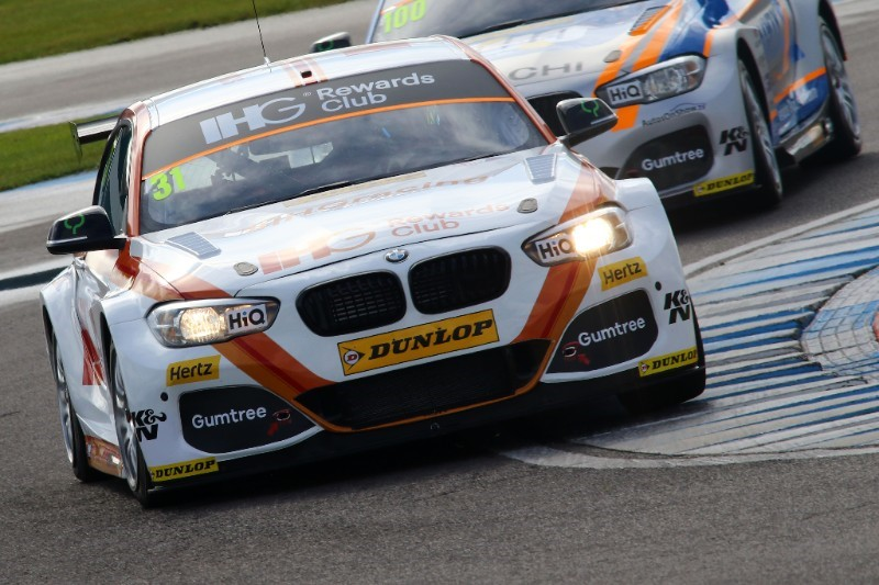 Jack Goff is hoping to steer his BMW to a first ever win at Thruxton
