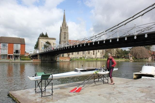Naomi Riches is planning to row the length of the Thames in September