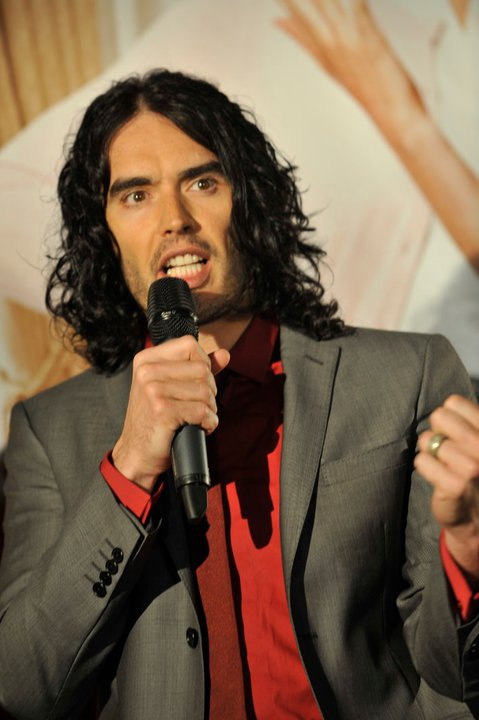 Russell Brand - picture by Eva Rinaldi