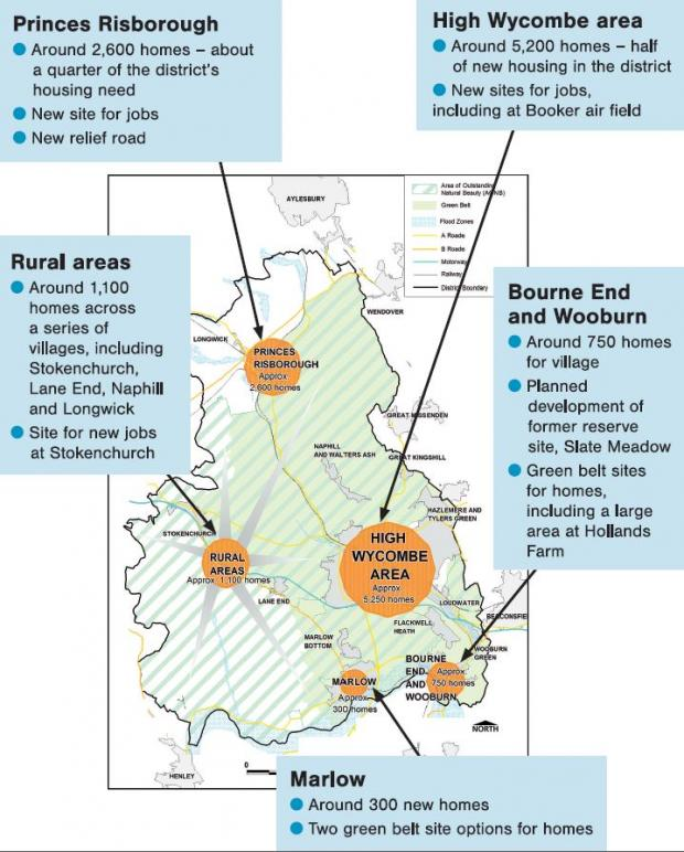Revealed big plans for wycombe 10000 new homes villages bucks free press malvernweather Image collections