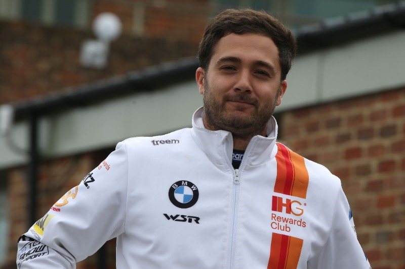Jack Goff is currently fifth in the BTCC