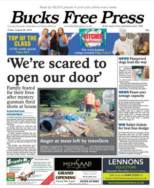 Bucks Free Press: Pick up your copy of the Bucks Free Press - in stores now! Featuring a GCSE results special and guide to the restaurants and takeaways in south Bucks with the worst food hygiene ratings.