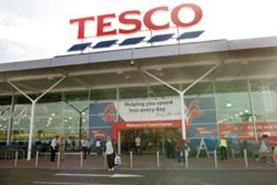 Bucks Free Press: Supermarket giants - Tesco and Sainsbury's can absorb the cost of fuel increasing because of their size. (26865-2 & 43492-a)