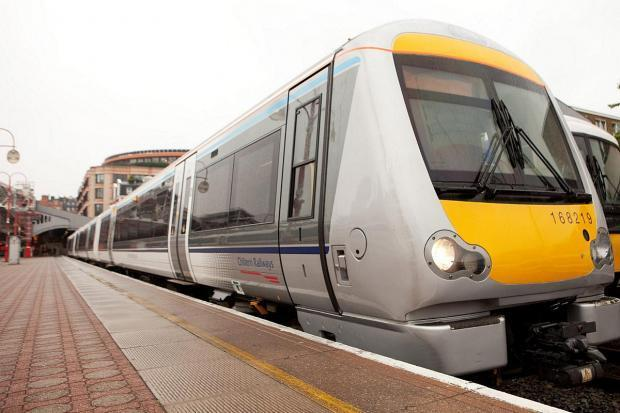 Delays on the trains after 'trespasser on the tracks'