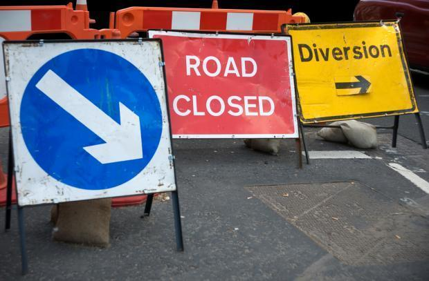 ROADWORKS: Don't get caught out this week