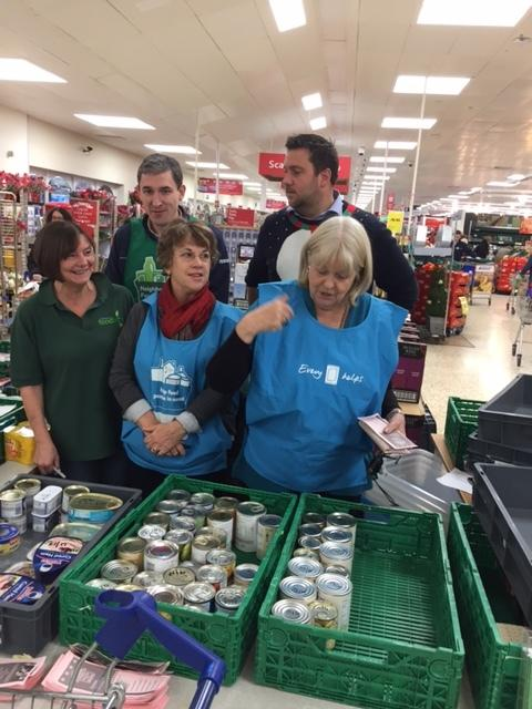 Three Tonnes Of Food Donated To Chiltern Food Bank By