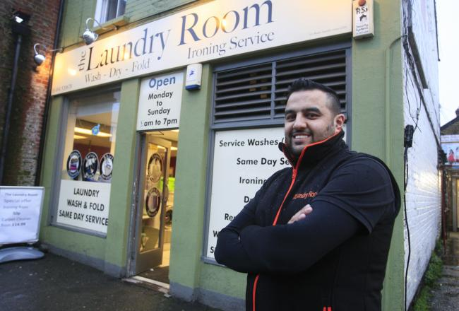 Qumar Aziz, who owns The Laundry Room in High Wycombe, is set to offer a free washing service for homeless people in the town