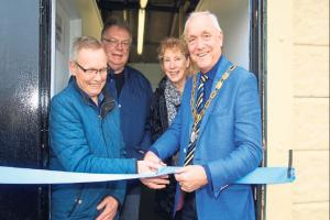 Sports ground changing rooms reopened following refurbishment