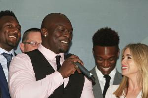 Akinfenwa was Wycombe's Players' Player and Fans Player of the Year