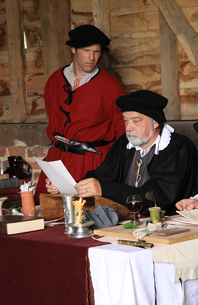 Tudor Courtroom  Living History Event