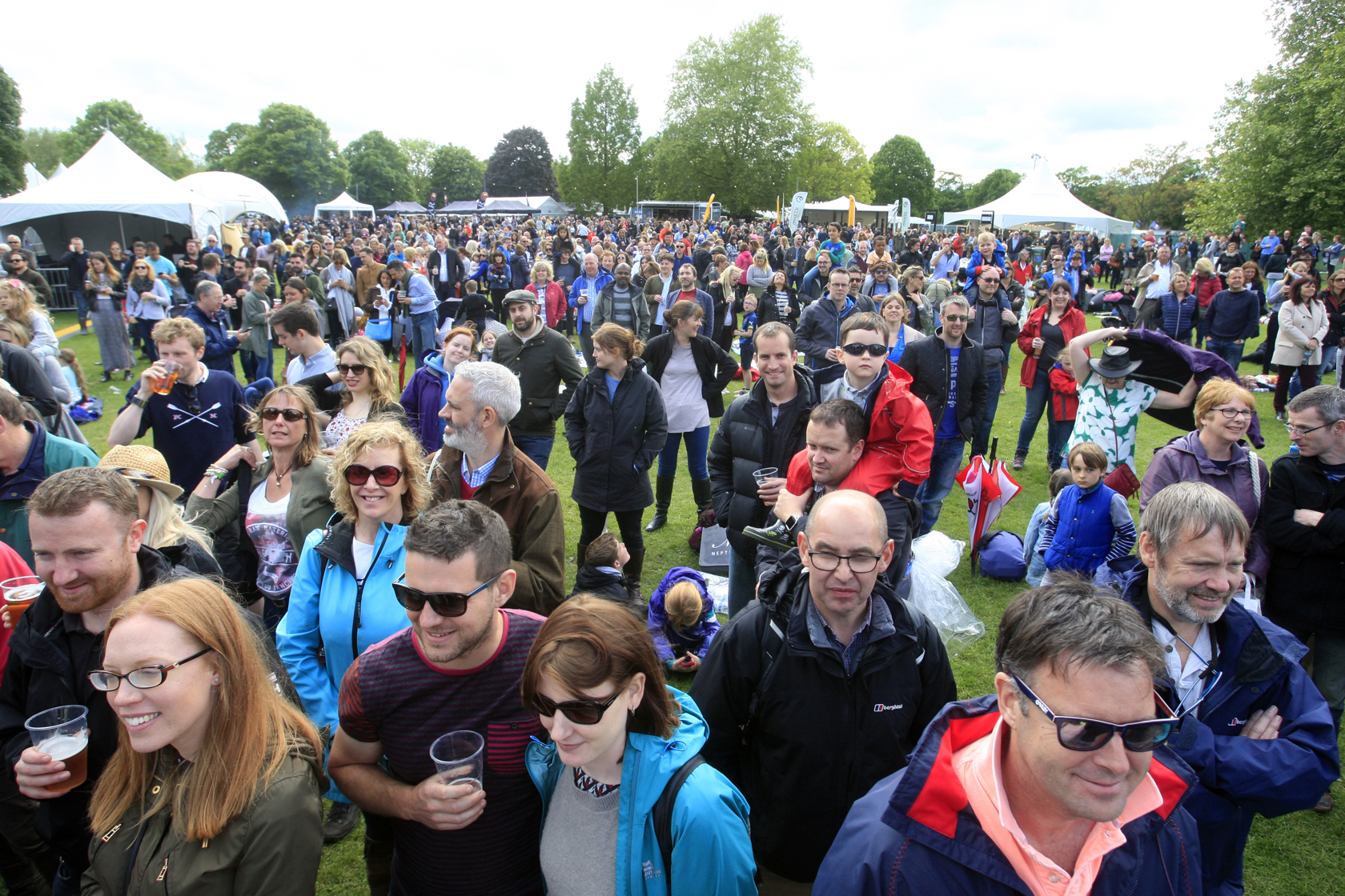 Thousands of people packed out Higginson Park at the festival's debut last year
