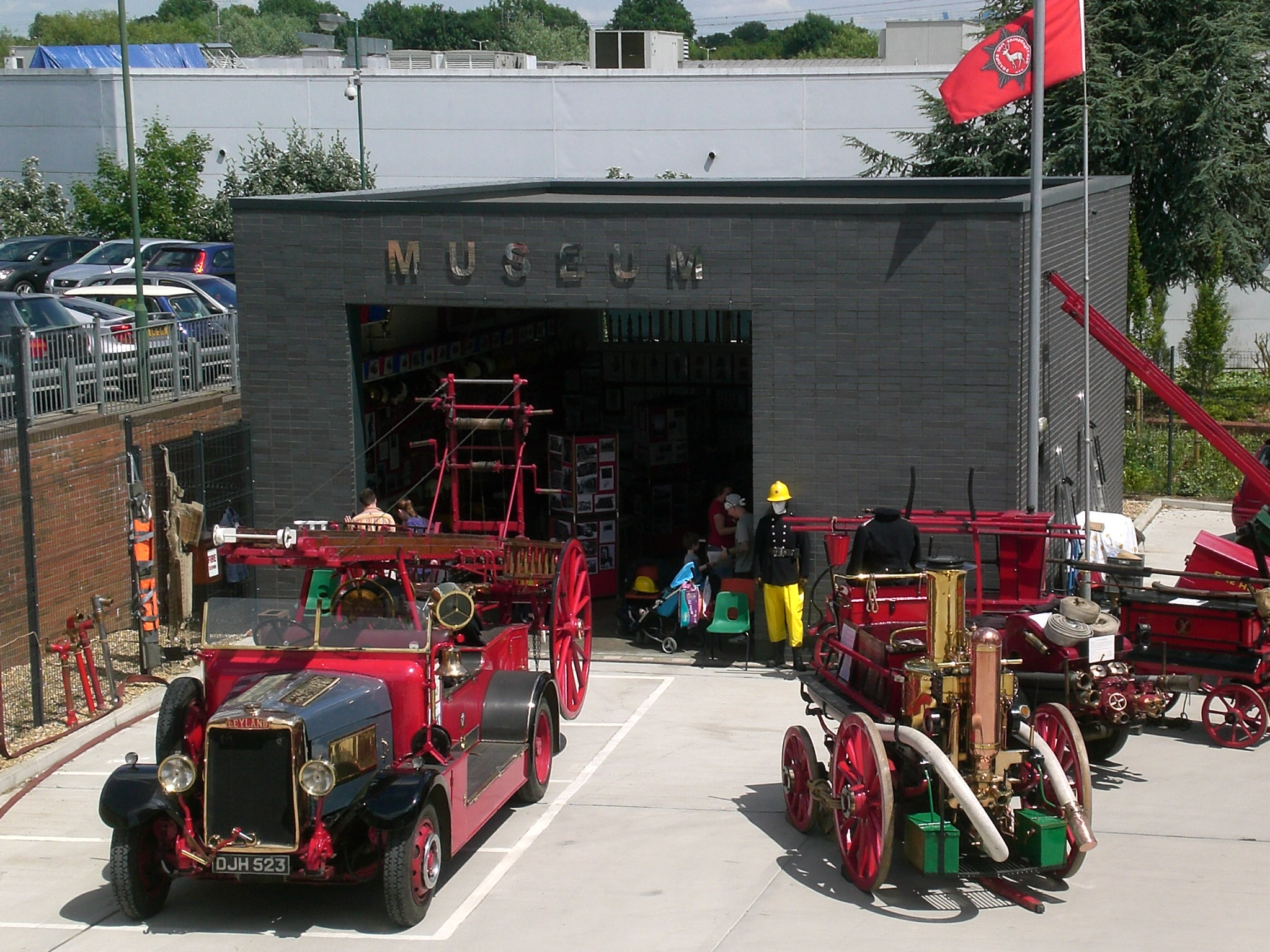 Herts Fire Brigade Museum Open Day