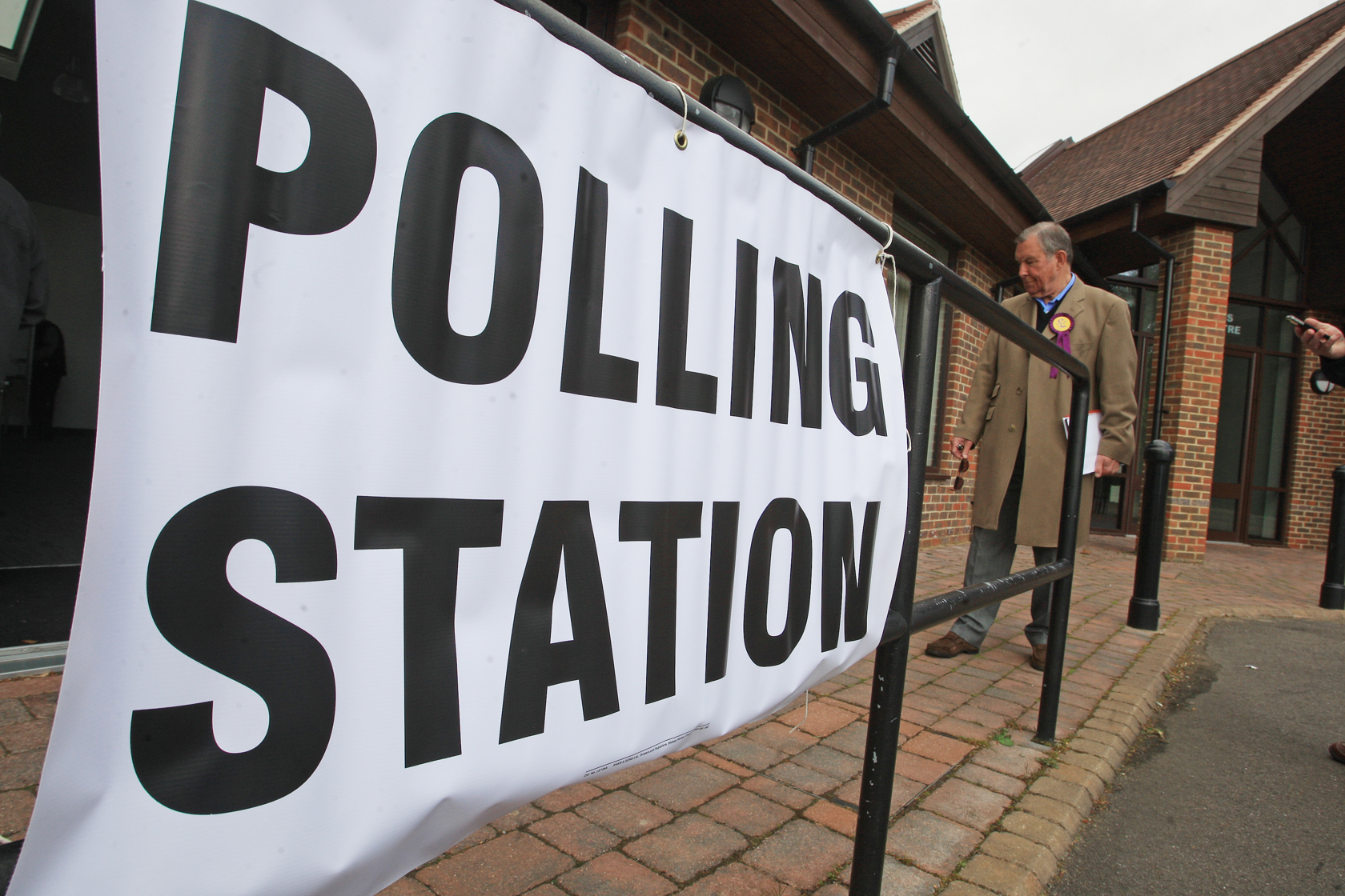 GENERAL ELECTION: Britain goes to the polls
