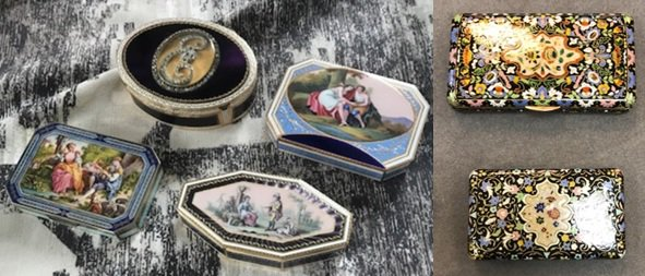 PICTURE: Enamel boxes stolen in house burglary