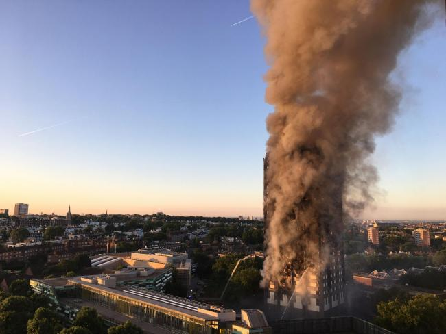 Grenfell Tower. Picture by Natalie Oxford/PA Wire