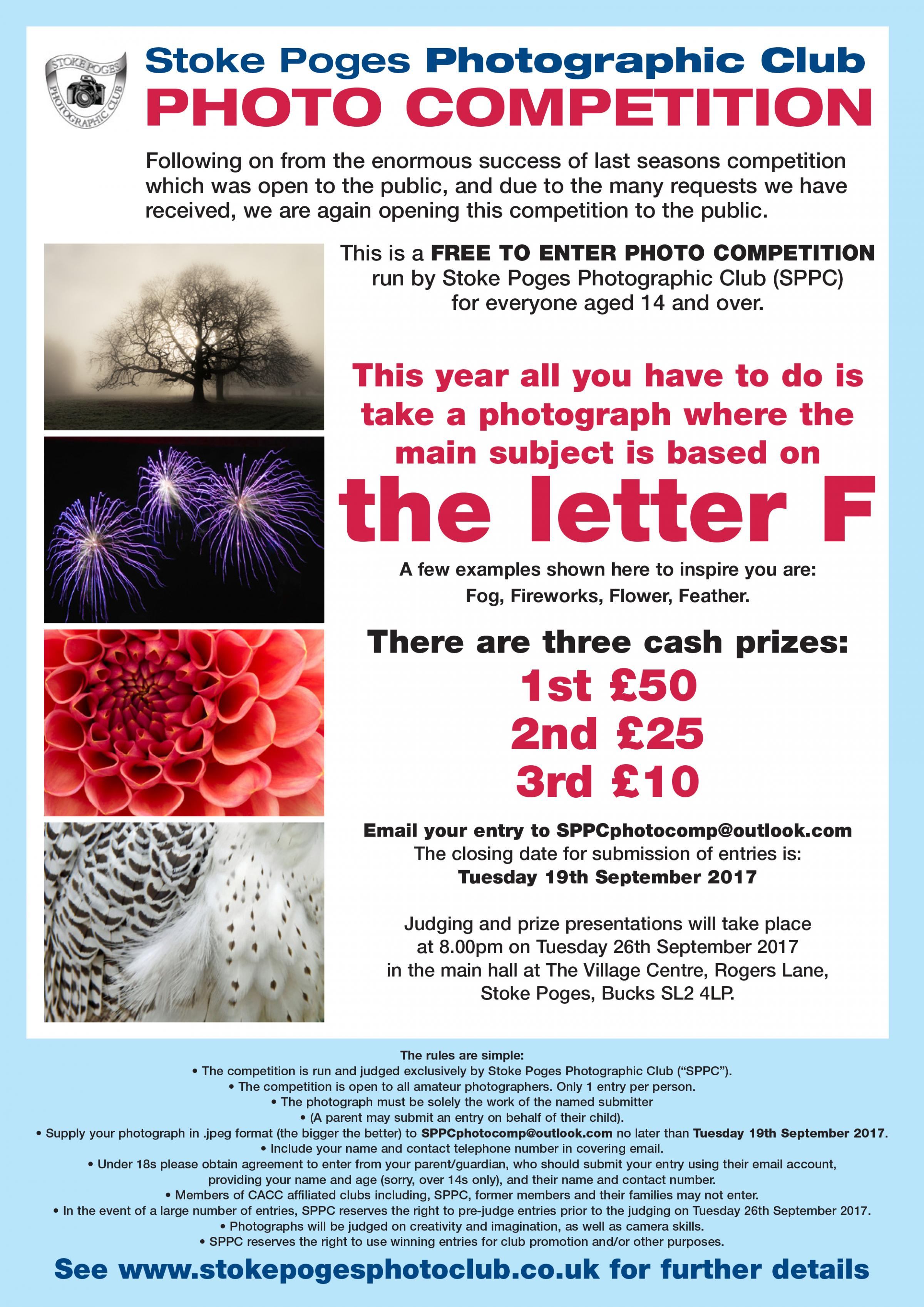 STOKE POGES PHOTO COMPETITION