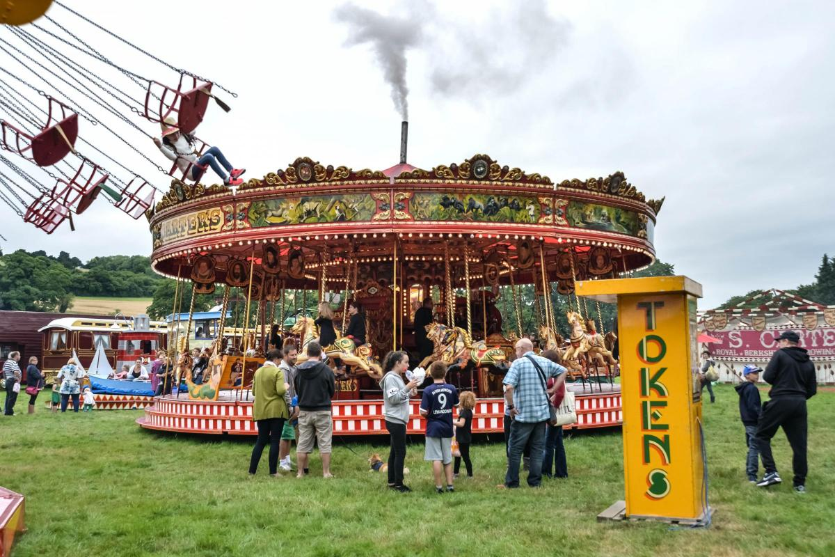 Pictures Carters Steam Fair Returns To The Pedestal Playing Fields