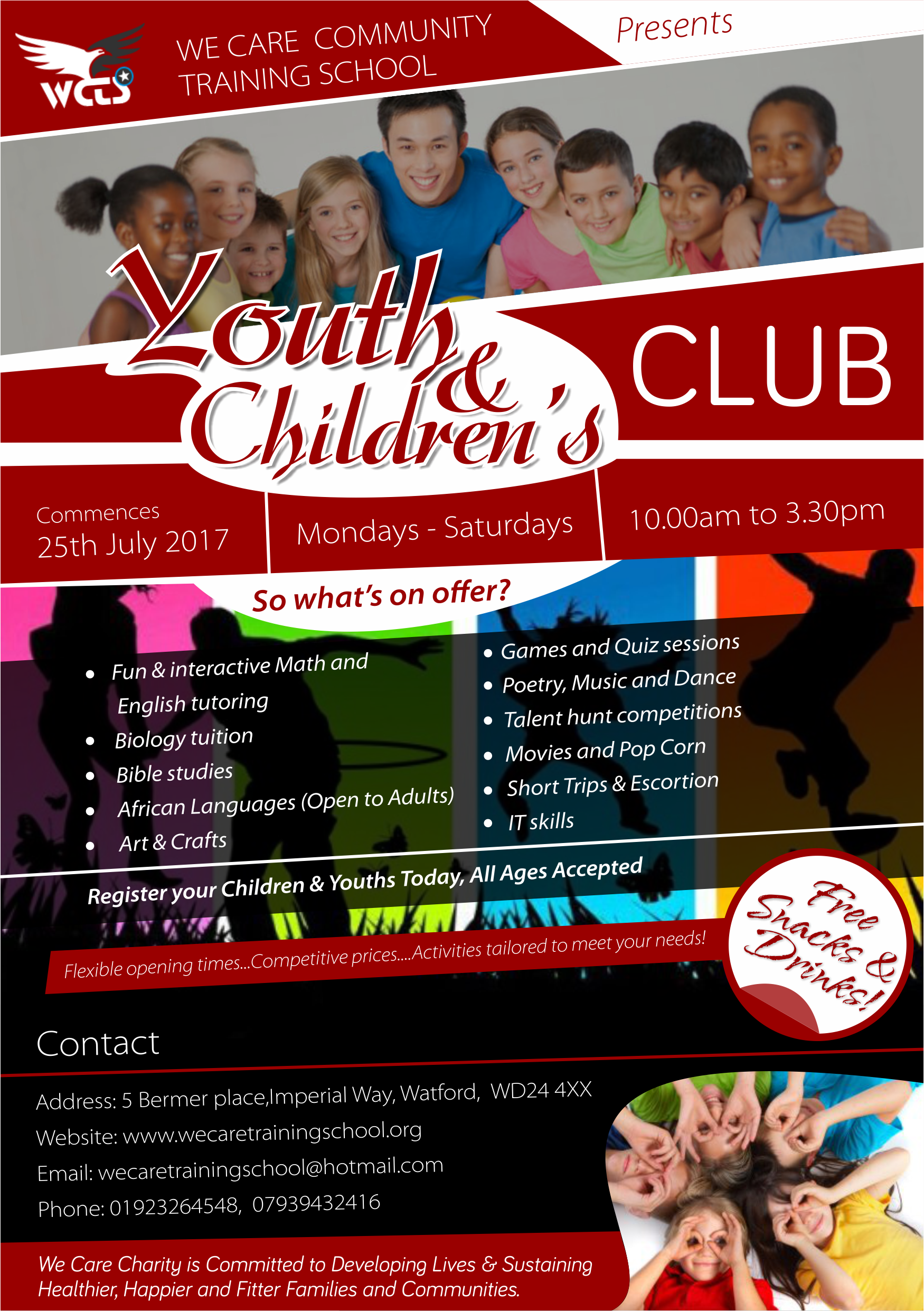 We Care Youth and Children Club