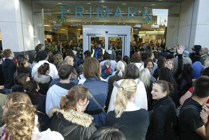 Customers flood into new Primark store