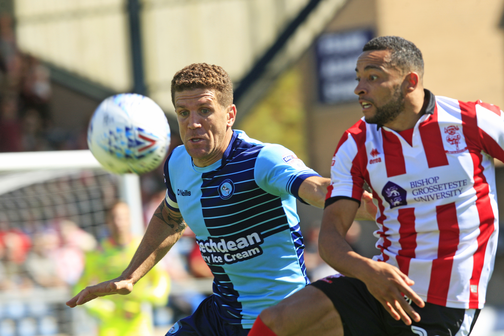 Adam El-Abd made his debut against Lincoln in their 2-2 draw on the opening day of the season