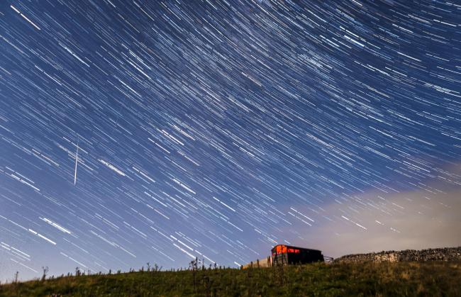 An archive photo of the Perseid meteor shower, seen from near Hawes in the Yorkshire Dales National Park. Picture: Danny Lawson/PA Wire