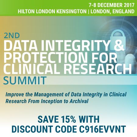 2nd Data Integrity & Protection for Clinical Research Summit