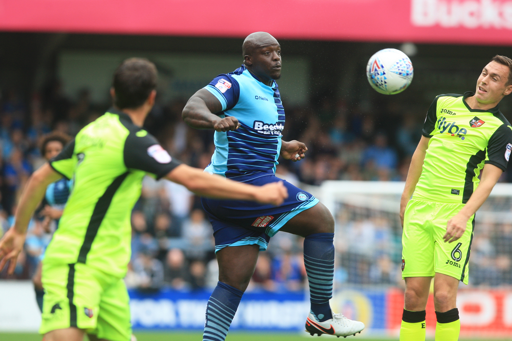 Akinfenwa grabbed his 13th goal of the season