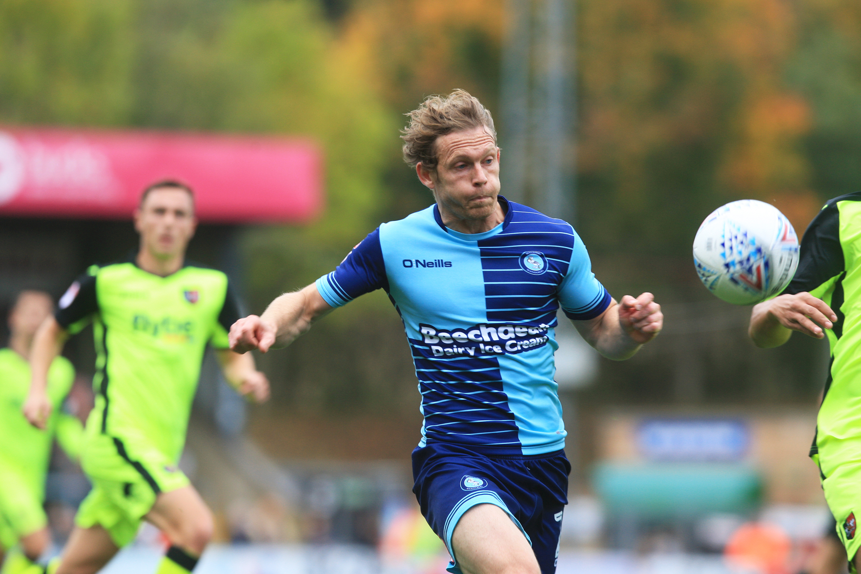 Mackail-Smith was in excellent form against Solihull Moors