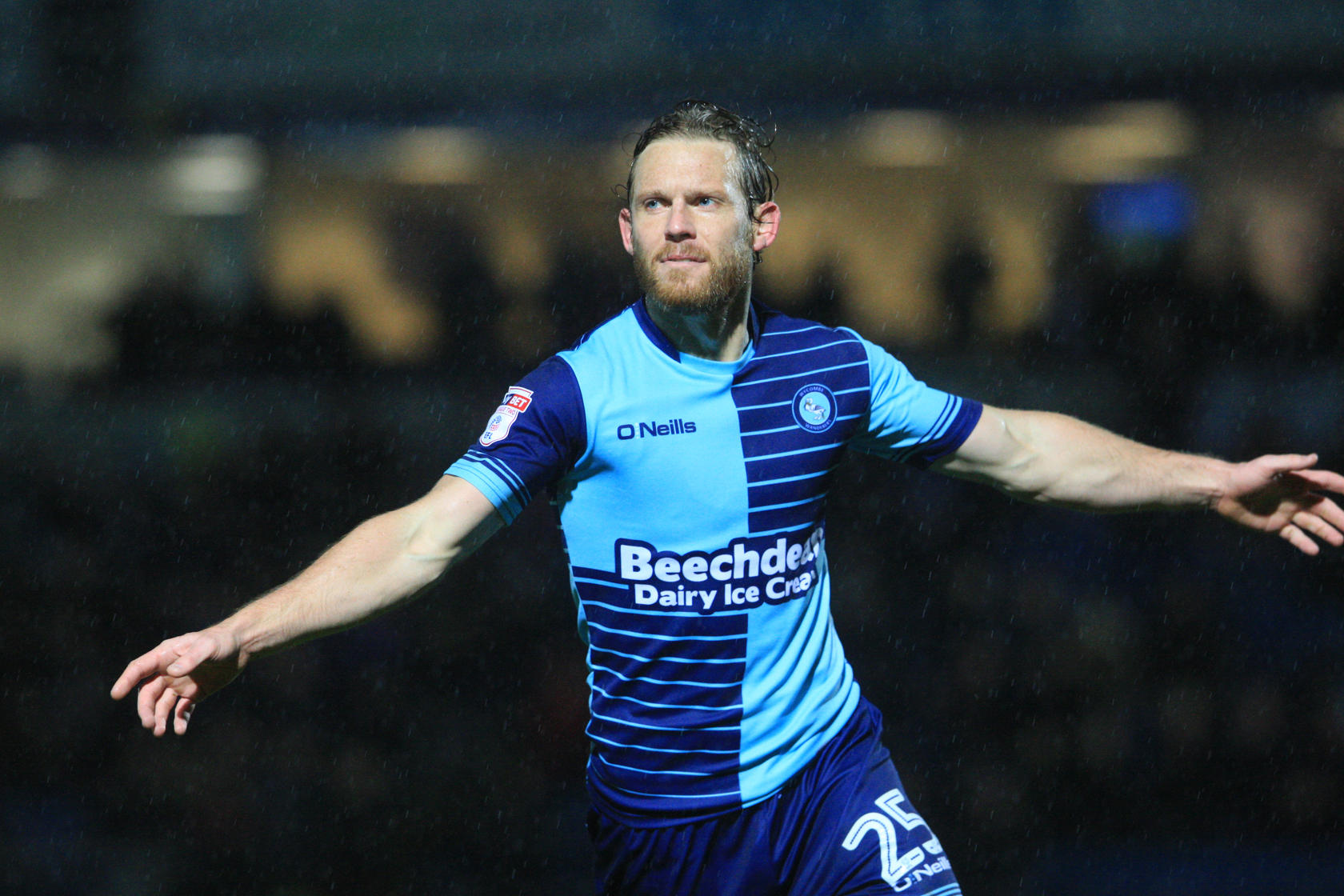 Mackail-Smith scored his ninth goal of the season at Gresty Road