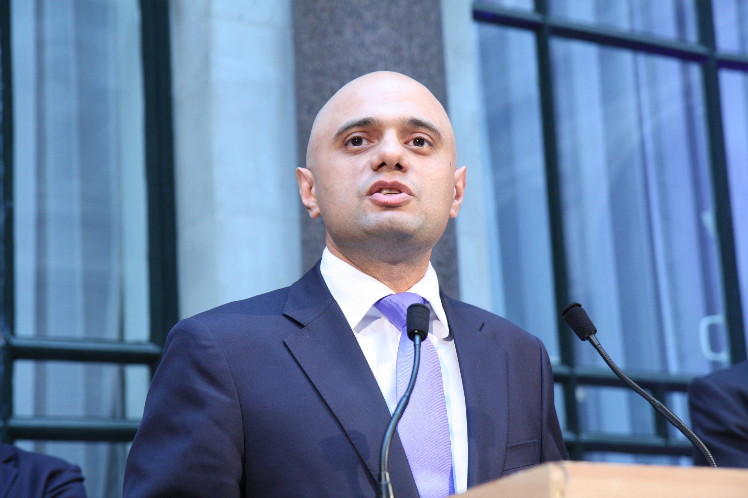 Sajid Javid - picture by Foreign and Commonwealth Office