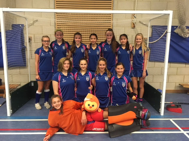 Beaconsfield High U16 Indoor Hockey team