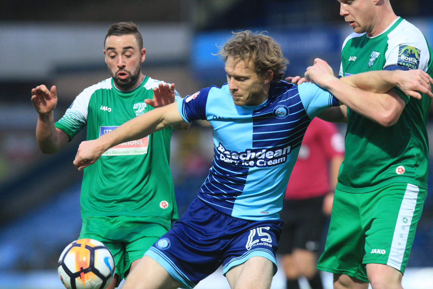Mackail-Smith against Leatherhead