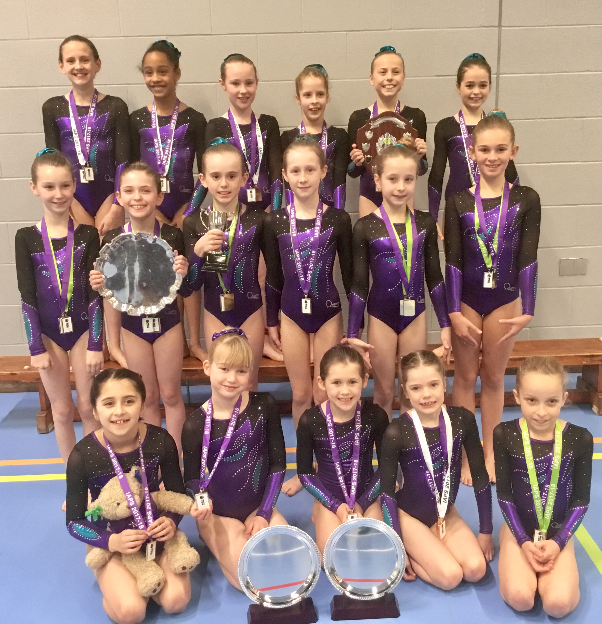 Maltman's gymnasts performed at the IAPS finals recently