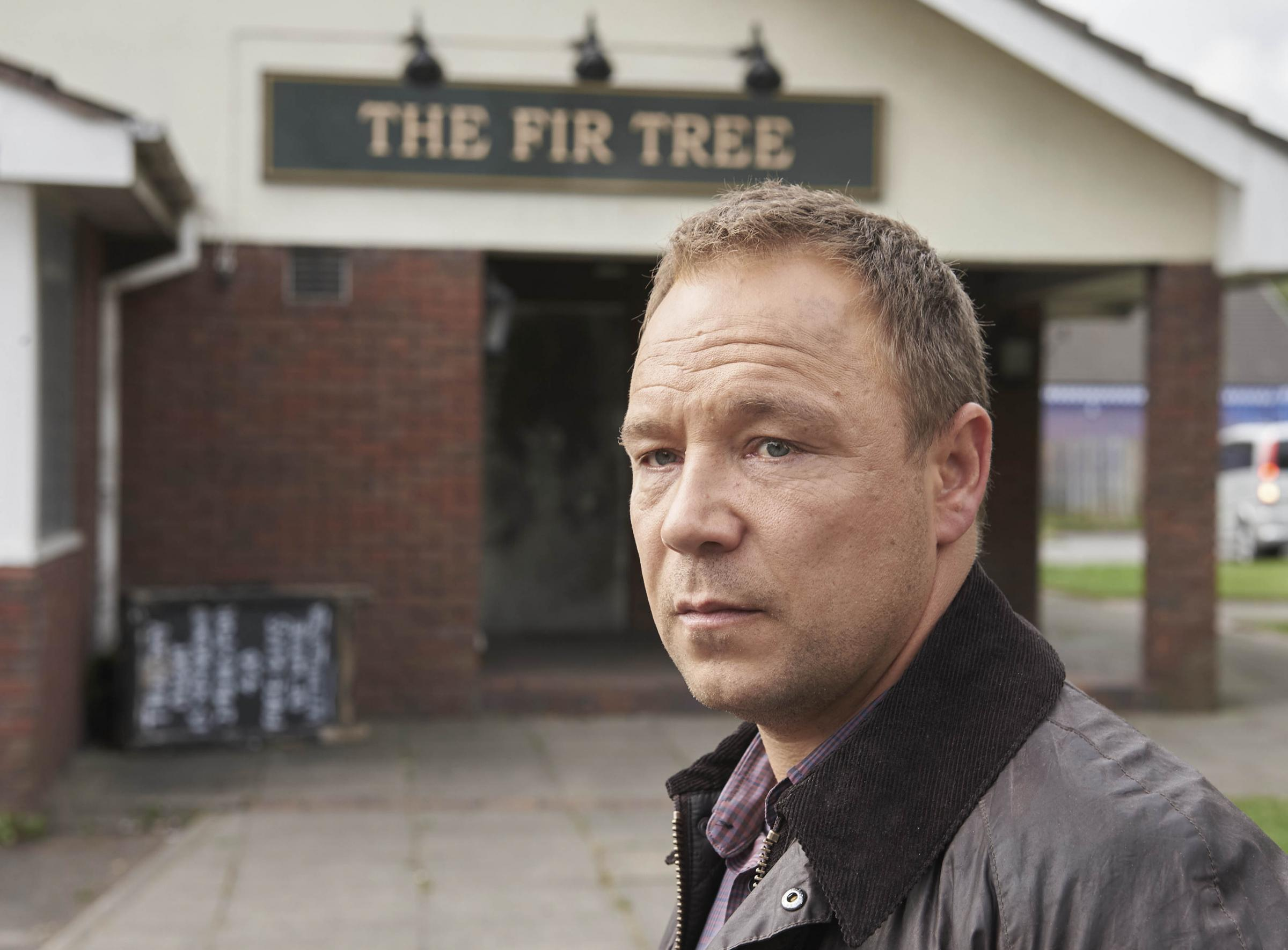 Stephen Graham will be playing at Adams Park for charity next May. Credit: ITV