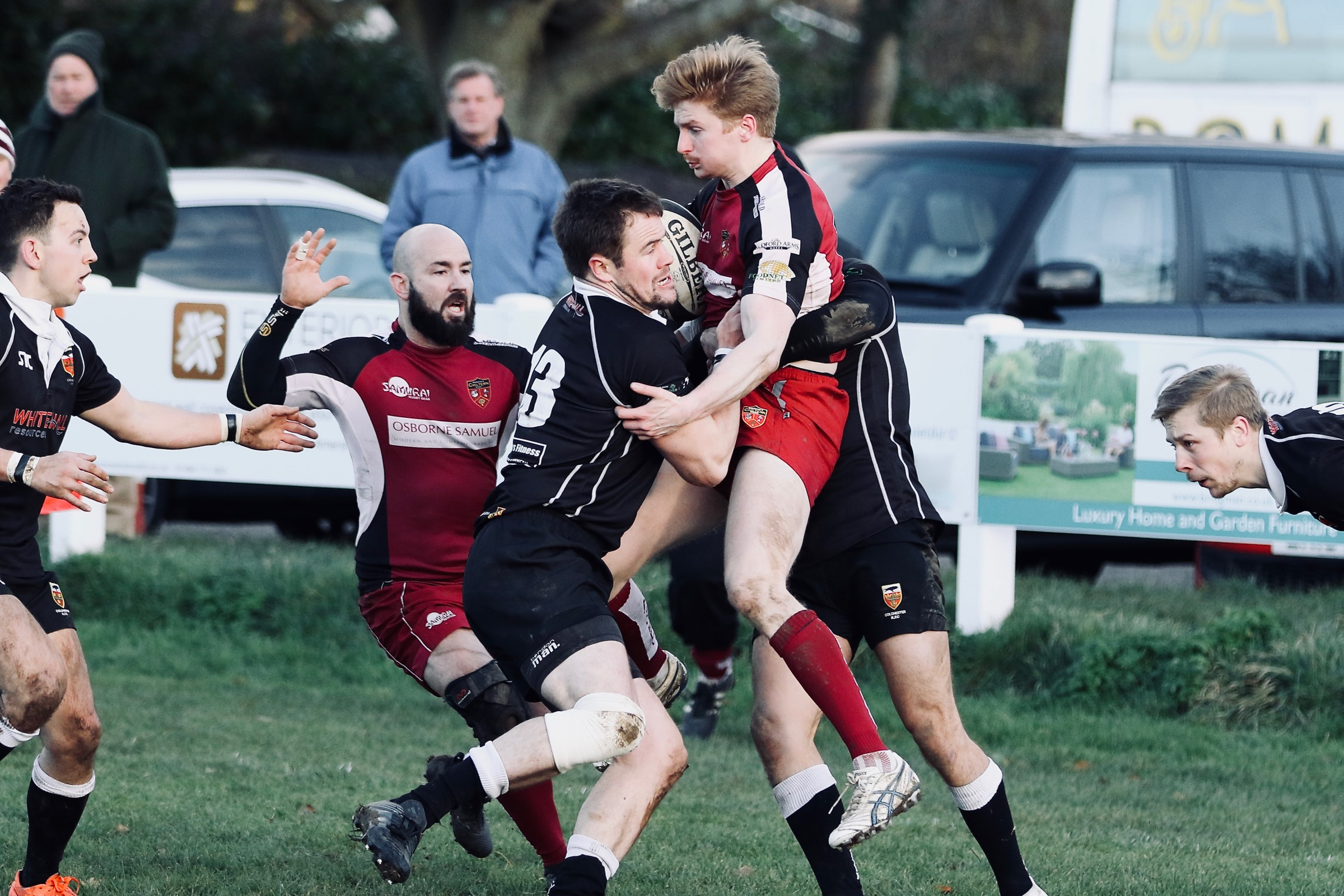 Amersham drew a hard-fought game with Diss