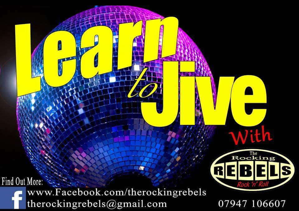 Beginners Rock n Roll Jive dance classes every Wednesday