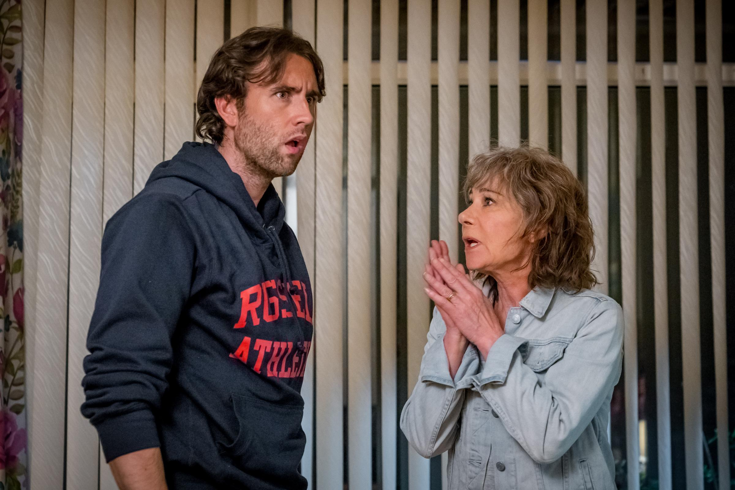 Zoe Wanamaker on reuniting with 'hunk' Harry Potter co-star Matthew Lewis (ITV/Rollem)
