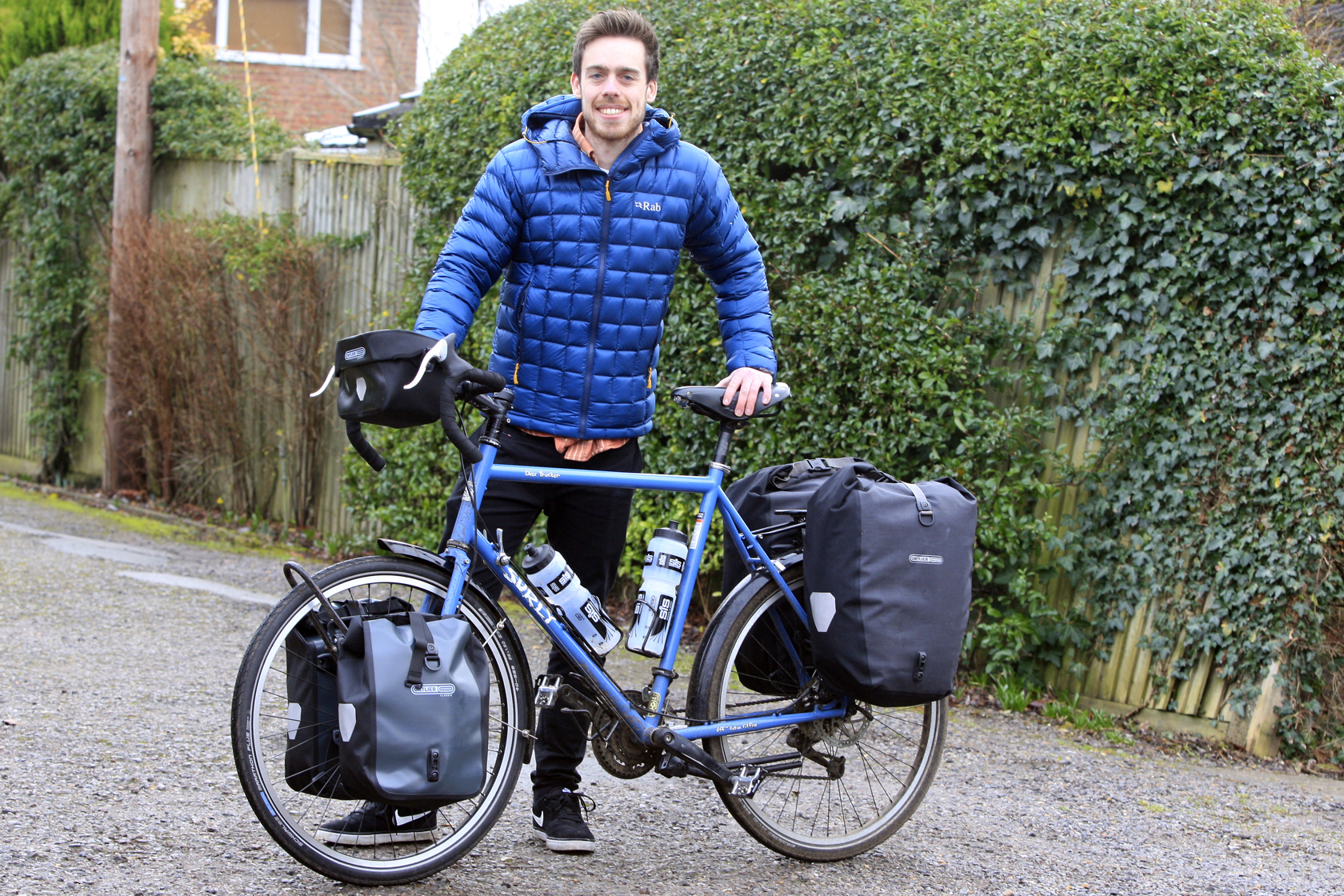 Cyclist set to take on 'once-in-a-lifetime' bike ride around the world
